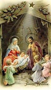 Image result for Vintage Christmas Card Images Nativity