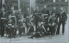 Officers in Undress Order circa. 1895. The Royal Scots.