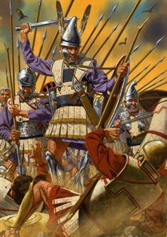 Historical Warrior Illustration Series Part lX Greek History, Ancient History, Ancient Rome, Ancient Greece, Hellenistic Period, Greek Warrior, Ancient Civilizations, Military History, Warfare