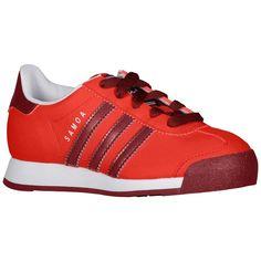 75d983f011f n2sneakers - adidas Originals Samoa Boys  Preschool Light  Scarlet Cardinal White