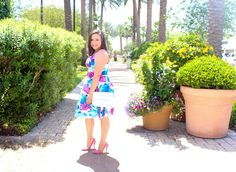 In Full Bloom Dress #JessLeaBoutique #JessLeaBlogger