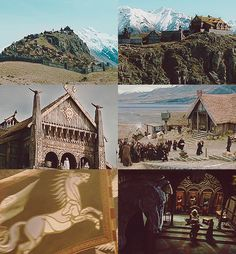 Rohan--maybe my fave part of Middle Earth <3