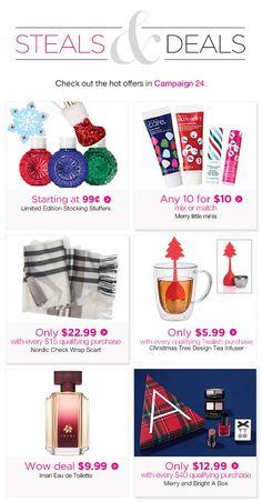 Offer ends Wednesday, Nov 2018 Avon Representative, Tree Designs, Stocking Stuffers, Bath And Body, Wednesday, Fragrance, Canada, Skin Care, 3d