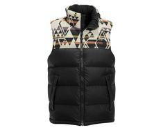 90096cc7ae The North Face x Pendleton Nuptse Vest Pendleton Wool