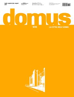 Domus 1015, July–August 2017