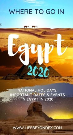 If you are planning Egypt tours in 2020 or a holiday to Egypt, you should definitely check this article.I have collected here all the important dates and interesting things we are expecting to happen in Egypt in The list will be updated through the year. Morocco Beach, Visit Morocco, Morocco Travel, Travel Advise, Travel Tips, Travel Info, Budget Travel, Travel Destinations, Egypt Travel