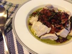 Minestrone, poached chicken & salsa verde from Jamie's 15-Minute Meals by Jamie Oliver