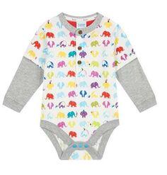 ba026a6bd4f1 Ted Baker Baby Boys Romper Bodysuit Elephant Designer Newborn Gift 0-3  Months