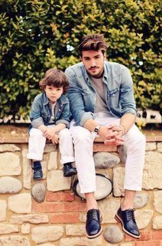 Сыновья наэтих фотографиях— вылитые отцы. Инаоборот