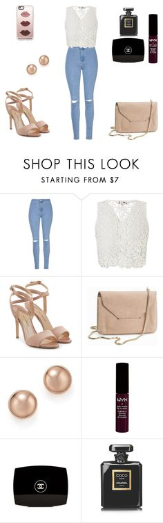 """""""Untitled #82"""" by maca-janevska ❤ liked on Polyvore featuring Glamorous, Lipsy, Paul Andrew, Filippa K, Bloomingdale's, NYX, Chanel and Casetify"""