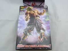 Dragon Ball Z GT KAI Max Muscle Mania DX Figure SS Broly New SCultures HQ DX