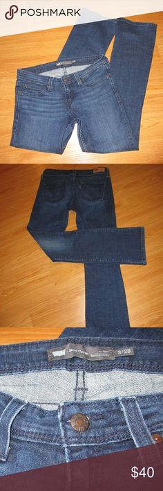 "Levi's Demi Curve Low Rise jeans Boot cut, skinny, size 9/29, inseam 30"",  very good condition. Levi's Jeans Boot Cut"