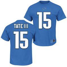 NFL Jersey's Women's Detroit Lions Marvin Jones Jr Pro Line Blue Team Color Jersey