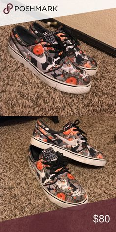 Men janoski's Size:7.5 in men // used only a couple times// bottom will be cleaned.. shoes in excellent condition Nike Shoes Sneakers