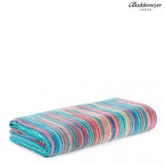 Buddemeyer Luxus Beach Towel Printed Rosa Saint Tropez