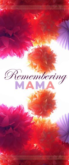 To celebrate Mother's Day, stories by Anne Lamott, Sandra Tsing Loh, Alan Richman, and others.   BYLINER SPOTLIGHT   http://byliner.com/spotlights/remembering-mama