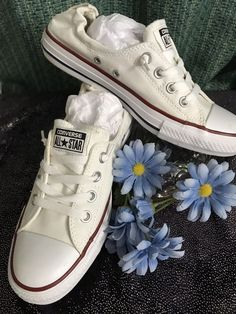 6b9c9e5345e7 White Converse All Star Sneakers Womens Size 9 Mens Size 7  fashion   clothing