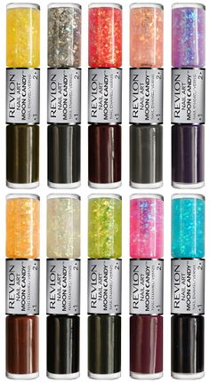 Revlon Nail Art Moon Candy 3D Cosmic Effect .. you dont understand how much i legitimately need these in my life.