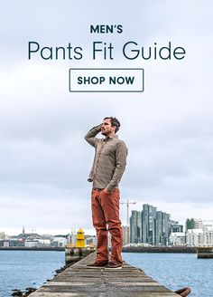 Check out our Men's Pants Fit Guide | prAna