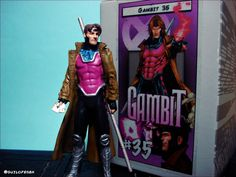 https://flic.kr/p/Bku8LM | Gambit | Classic Marvel Figurine Collection - Eaglemoss