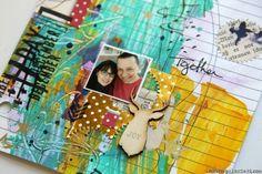 Ronda Palazzari - Document Dec Art Journal Day 11 details.