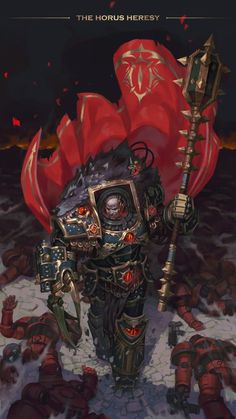 Collection of artwork about Warhammer Warhammer 40000, Warhammer 40k Memes, Warhammer Art, Warhammer 40k Emperor, Warhammer Models, Warhammer Fantasy, Dark Fantasy, Fantasy Art, Sons Of Horus