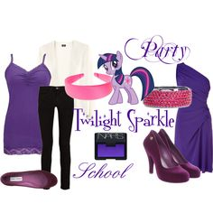 """""""Twilight Sparkle (My Little Pony: Friendship is Magic)"""" by colorsgalore on Polyvore"""