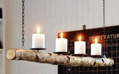 Candle Look Chandelier - Foter