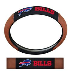 Hot new product: NFL Buffalo Bills... Buy it now! http://www.757sc.com/products/nfl-buffalo-bills-premium-embroidered-football-leather-steering-wheel-cover?utm_campaign=social_autopilot&utm_source=pin&utm_medium=pin