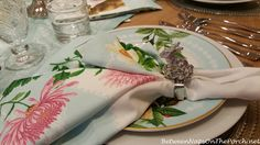Bunny Napkin Rings, Williams-Sonoma   Between Naps on the Porch