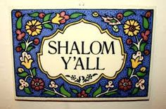 shalom y'all sign - Google Search