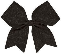 Glitter Performance Hair Bow Glitter Black: wide ribbon/liliAll-over colored glitter design/liliComes with pony tail holder /liliManufactured by Chassé®/liliSize: x Glitter Hair, Glitter Hearts, Sparkly Cheer Bows, Cheerleading Hair Bows, Cheerleading Stunting, Competition Hair, Cheer Hair, Bow Accessories, Ribbon Hair Bows