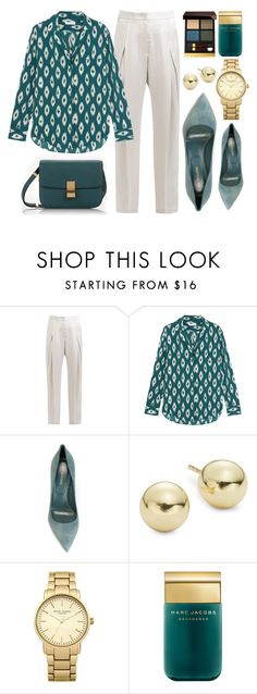 """Gonna make it"" by monmondefou ❤ liked on Polyvore featuring Brunello Cucinelli, Equipment, Sergio Rossi, Lord & Taylor, Topshop, Marc Jacobs, Tom Ford, white and GREEN"