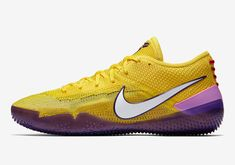 Nike Kobe AD NXT 360 Coming Soon In Lakers Colors Basketball Shoes Kobe b4afce0189