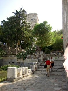 Saindo para ver os vidros de Damasco...