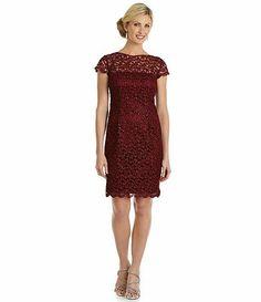Patra Lace metallic.  Available at Dillards.com #Dillards