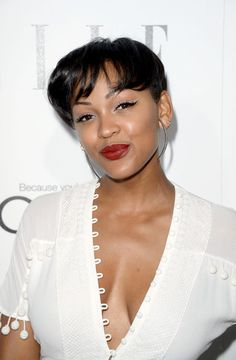 Meagan Good Photos - Actress Meagan Good attends ELLE's Annual Women In Hollywood Celebration at Four Seasons Hotel Los Angeles at Beverly Hills on October 2013 in Beverly Hills, California. - Arrivals at ELLE's Women In Hollywood Celebration Meagan Good, In Hollywood, Cool Photos, Actresses, Celebrities, Rock, Music, Women, Fashion