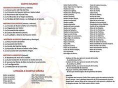 Santo Rosario - CatholicosOnline