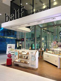 The belif skin care shop (Plaza Singapura, Singapore)