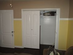 Hollow Core Or Solid Core Bi Folding 4 Panel Closet Doors. Looking To  Maximize