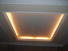 ceiling up lighting. Dropped Ceiling With Up Lighting