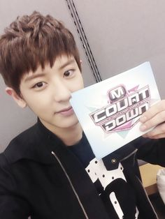 EXO's Chanyeol tries his hand at being an MC. http://kpoprookies.com/exos-chanyeol-tries-his-hand-at-being-an-mc/ #Chanyeol #EXO #MCountdown #Growl #kpop