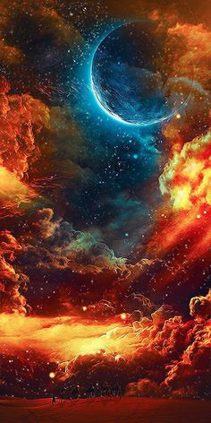The sky (or celestial dome) is everything that lies a certain distance above the surface of the Earth, including the atmosphere and outer space. Beautiful Sky, Beautiful Images, Beautiful Space Pictures, Amazing Pictures, Simply Beautiful, Outer Space Pictures, Space Artwork, Magical Images, Space Photos