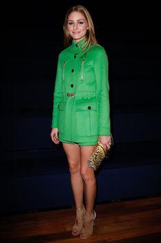 Olivia Palermo at Valentino Spring Summer 2015 show in Paris Fashion Week