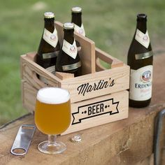 Personalised Beer Holder - kitchen
