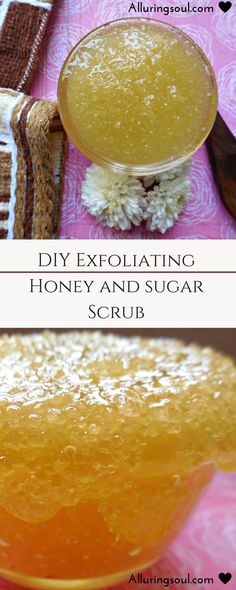 Honey and sugar scrub is considered as the perfect combination to enhance beauty. Use it as a skin food which exfoliates skin plus give a glow to your skin.