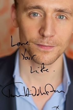 #TomHiddleston. Edit by magnus-hiddleston.tumblr