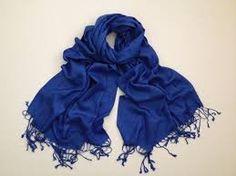 Royal Blue Pashmina scarves