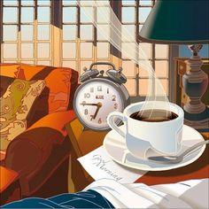 Bom dia, com café e companhia!