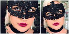 backstagebeauty - 50 shades of grey makeup look